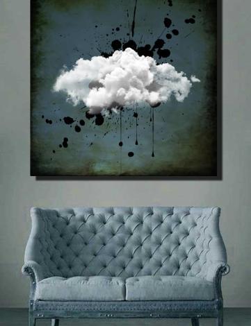 Tableau Abstrait Design, Tableau Raphael Setiano, Tableau Contemporain.