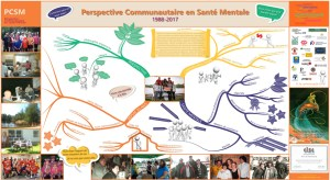 Affiche de présentation pour le 30e de PCSM