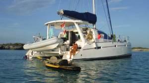 Photo du catamaran Chantemer