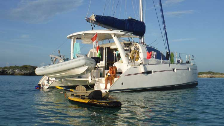 Photo du catamaran Chantemer