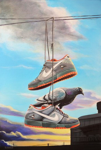 "Nike SB Dunk-Staple ""Pigeon"""