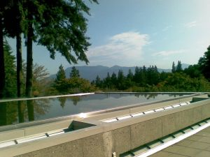 The view from one of the UBC buildings.