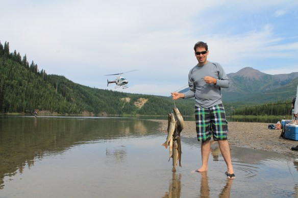 My catch at Hook Lake