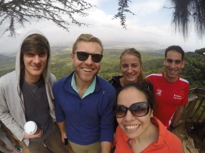 My first weekend in Nairobi - hiking Mt. Longonut!