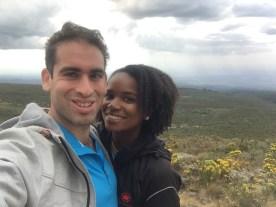 Base camp at Mt. Kenya