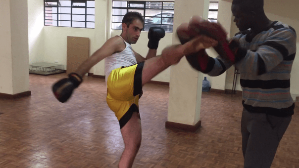 Nairobi Kickboxing with Eddie