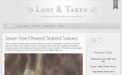Articulate Rapid E-Learning Blog - free textures at lost & taken