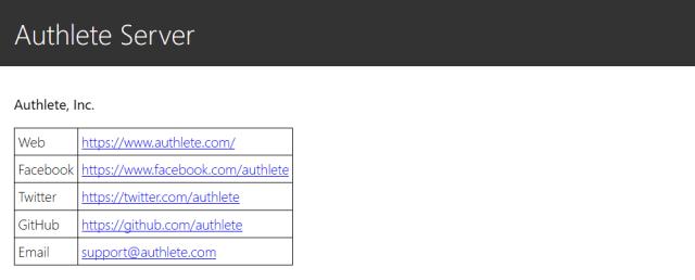 Authlete API