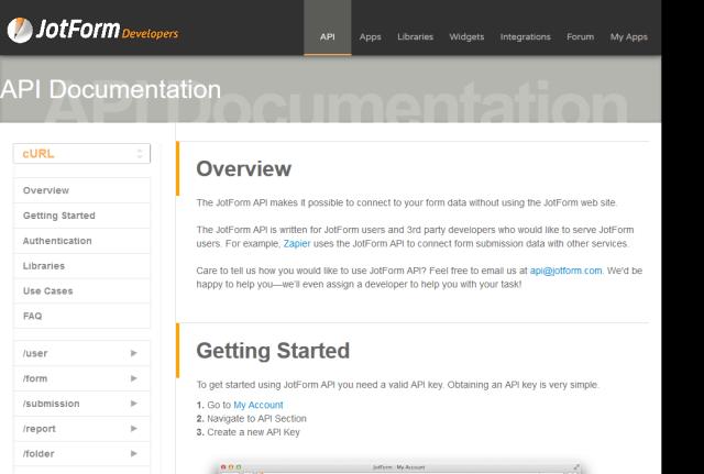 Jotform API