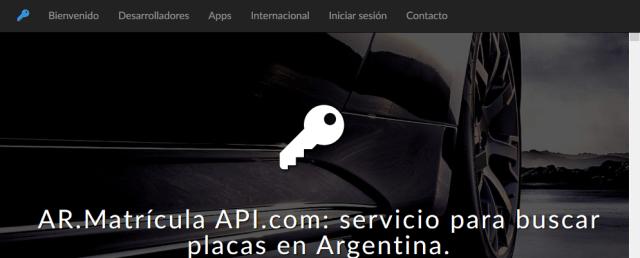 Argentinian Car Registration API