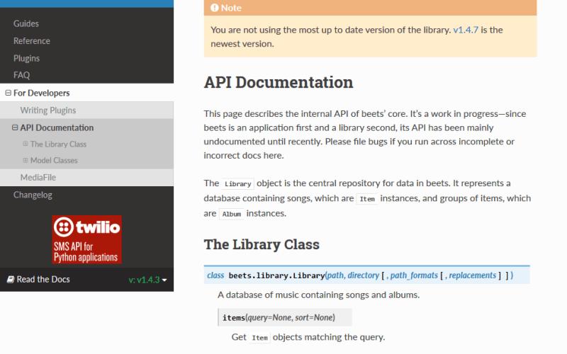 Beets API
