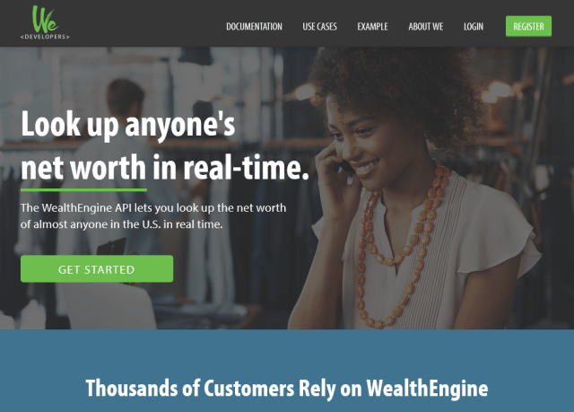 Wealthengine API