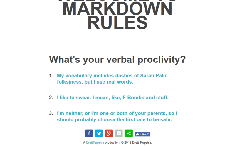 Marky Markdownifier API