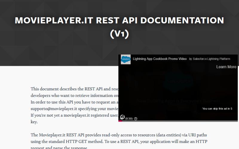 Movieplayer.it API