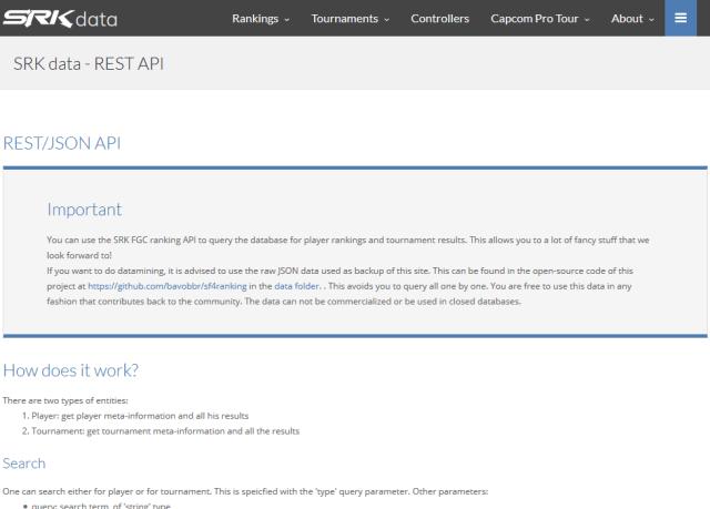 Srk Fgc API
