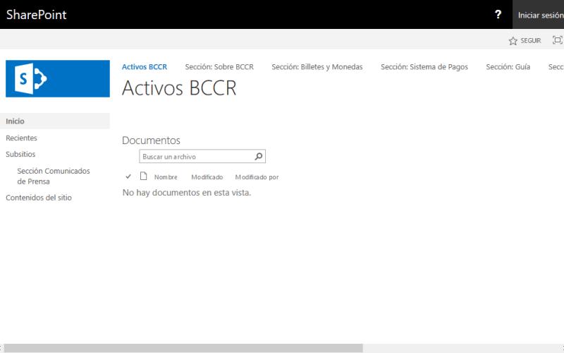 BCCR Indicadores Economicos API