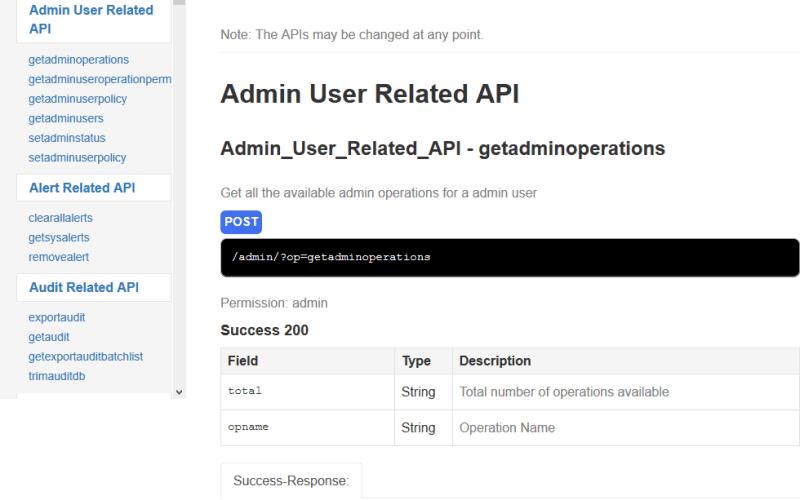 FileCloud Admin API