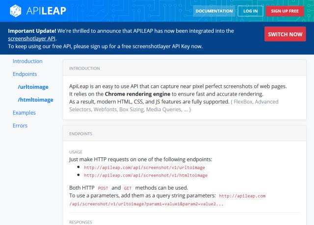 Apileap API