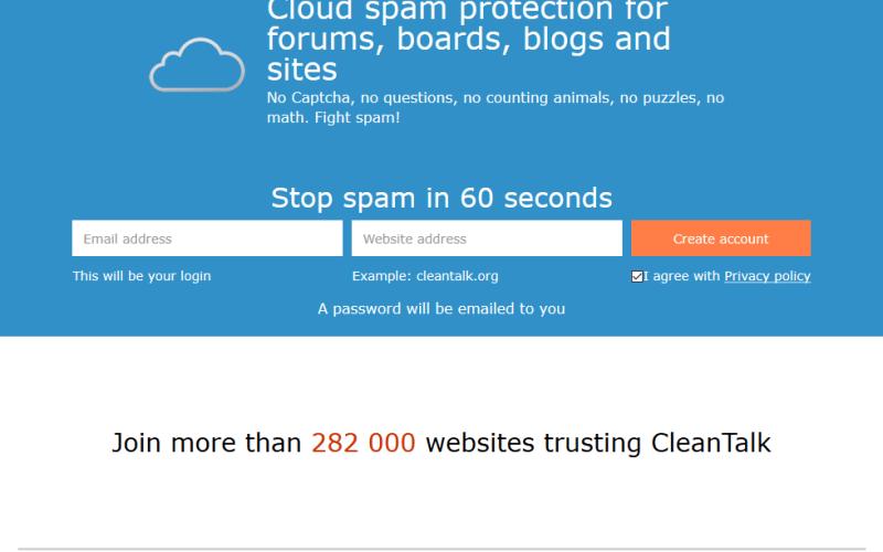 CleanTalk Anti-Spam API
