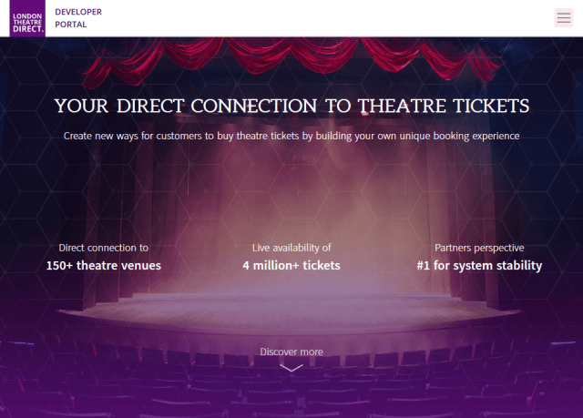 London Theatre Direct API