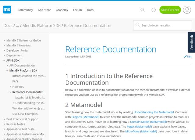 Mendix Model API
