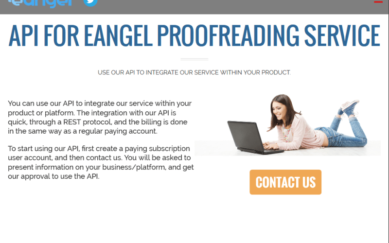 eAngel Human Proofreading API