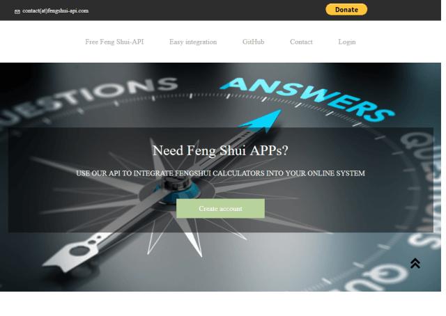Fengshui API