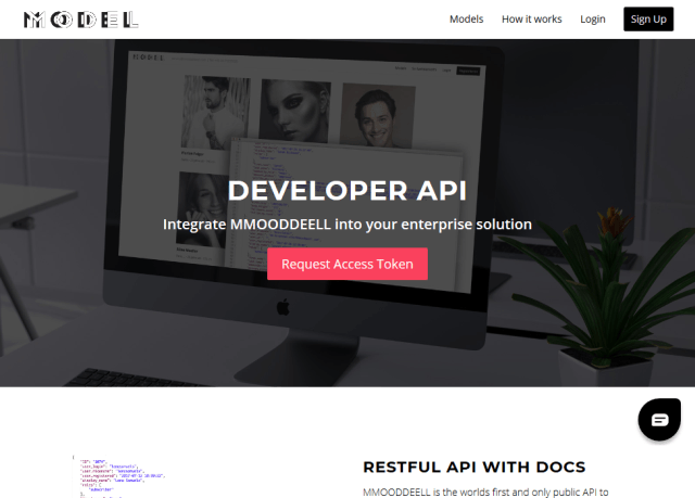 Mmooddeell API
