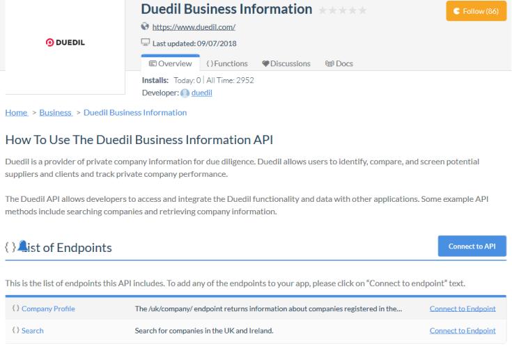 Duedil API