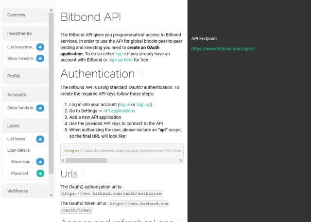 Bitbond API
