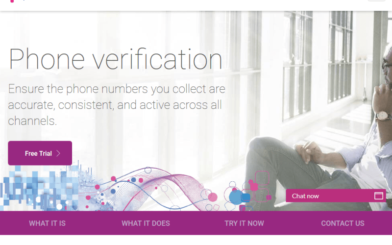 Experian Data Quality Phone Validation API