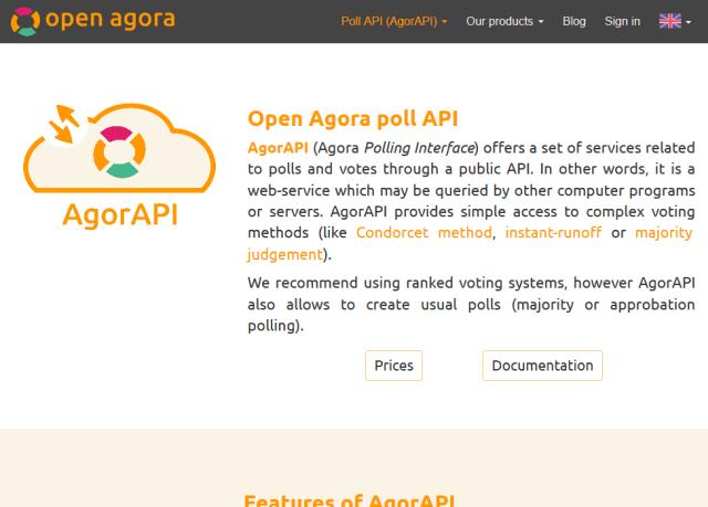 Agorapi API