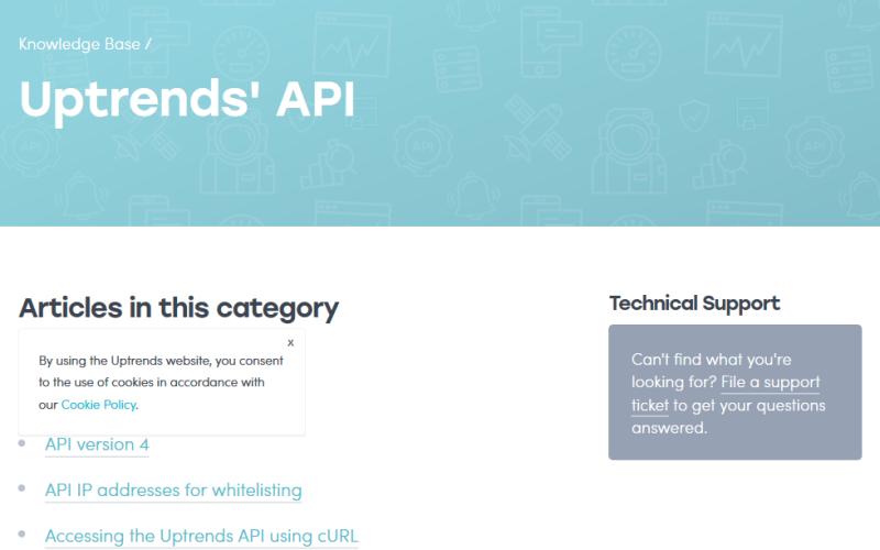 Uptrends API