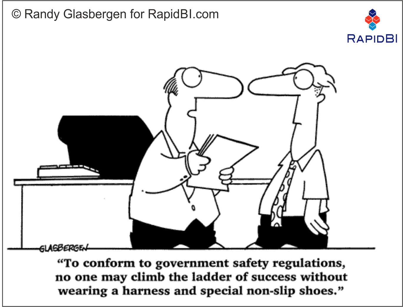 RapidBI Daily Business Cartoon #119