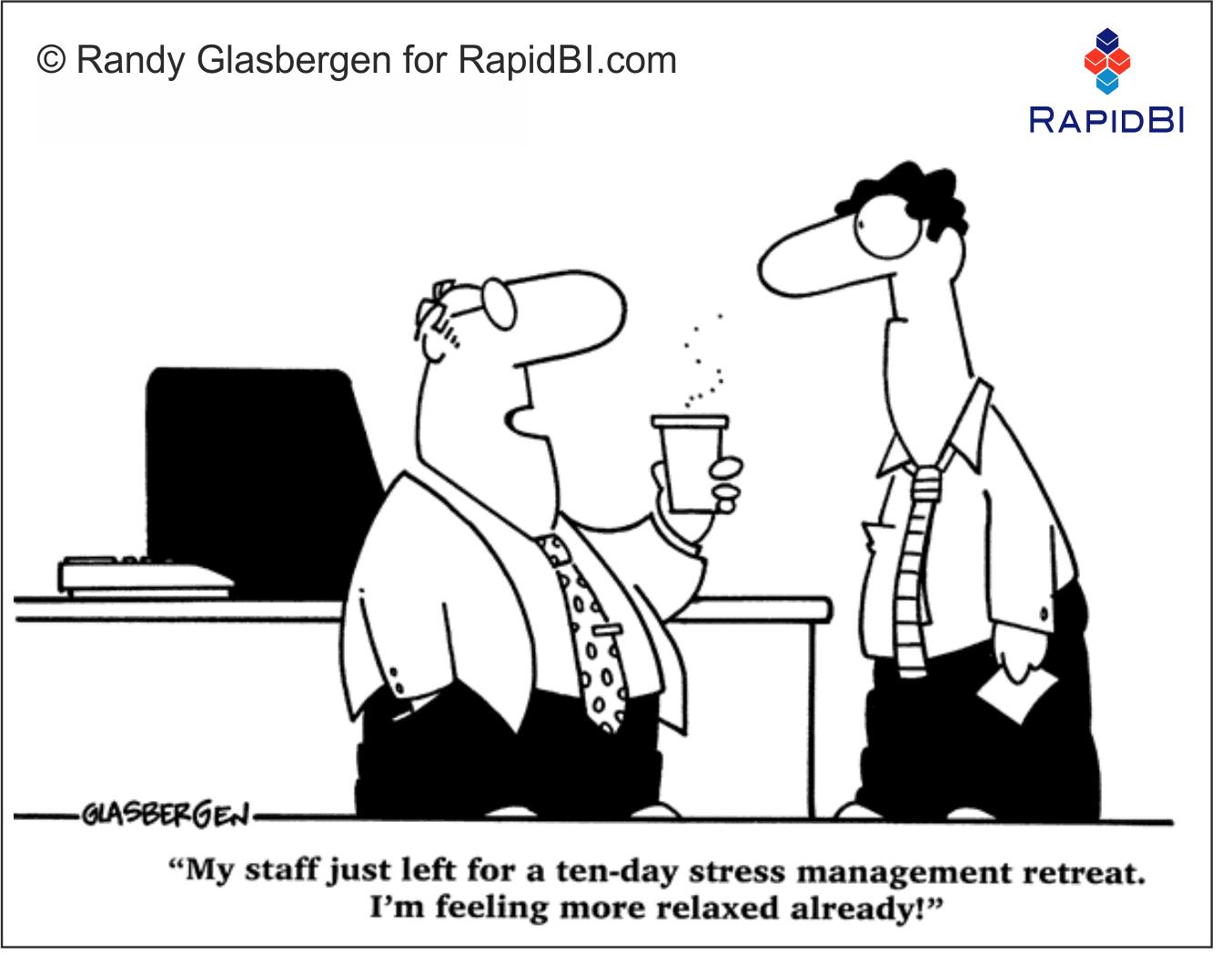 RapidBI Daily Business Cartoon #123