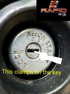 Nissan key stuck in ignition 1