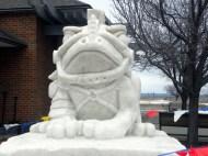 Snow Sculpture 1b