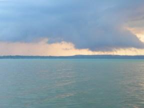 The cloud begins to leak