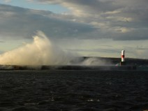 Breakwater in Petoskey. Wonder why the call it that? ;)