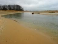 Platte River flows through the Dunes
