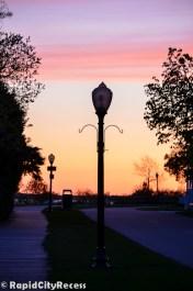 Quaint street lamp