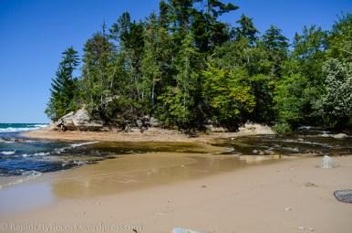 Mosquito River into Lake Superior-1