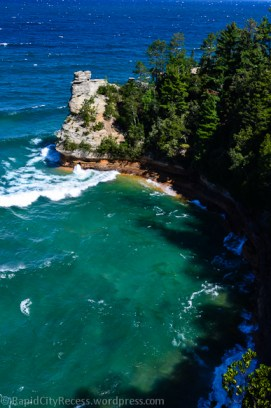 Pictured Rocks - Miners Castle-2