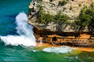 Pictured Rocks - Miners Castle splash-2