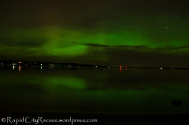 northern lights over Torch Lake-8