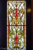 Laurium Manor Inn stained glass panel