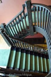 Laurium Manor Inn staircase
