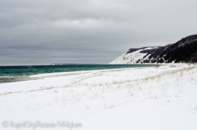 Empire Bluffs from Esch Beach
