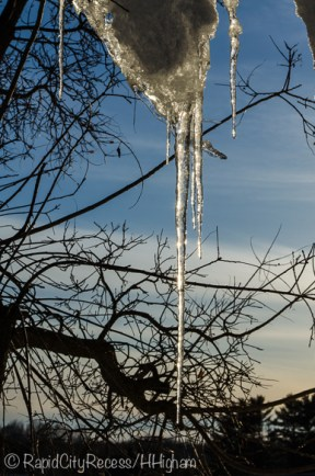 glittering icicle