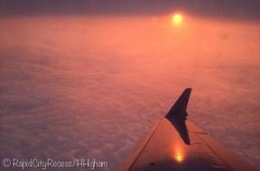 airborn sunset